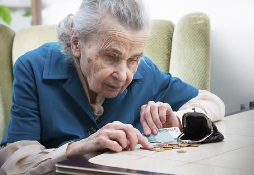'More than €700m is being stolen from vulnerable people a year, said the chairwoman of the National Safeguarding Committee, Patricia Rickard Clarke.' (stock image)