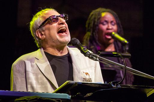 NEW YORK, NY - OCTOBER 10: Donald Fagen performs of Steely Dan onstage at Beacon Theatre on October 10, 2015 in New York City. (Photo by Santiago Felipe/Getty Images)