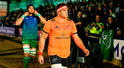 Stander is expected to be offered the chance join O'Mahony in Irish rugby's golden circle after becoming a key figure for the national side. Photo by Diarmuid Greene/Sportsfile