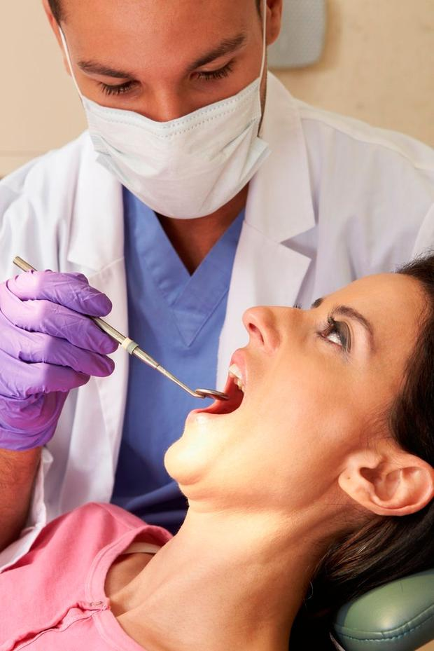 Scale and polish dental work will be subsidised by PRSI. Stock Image