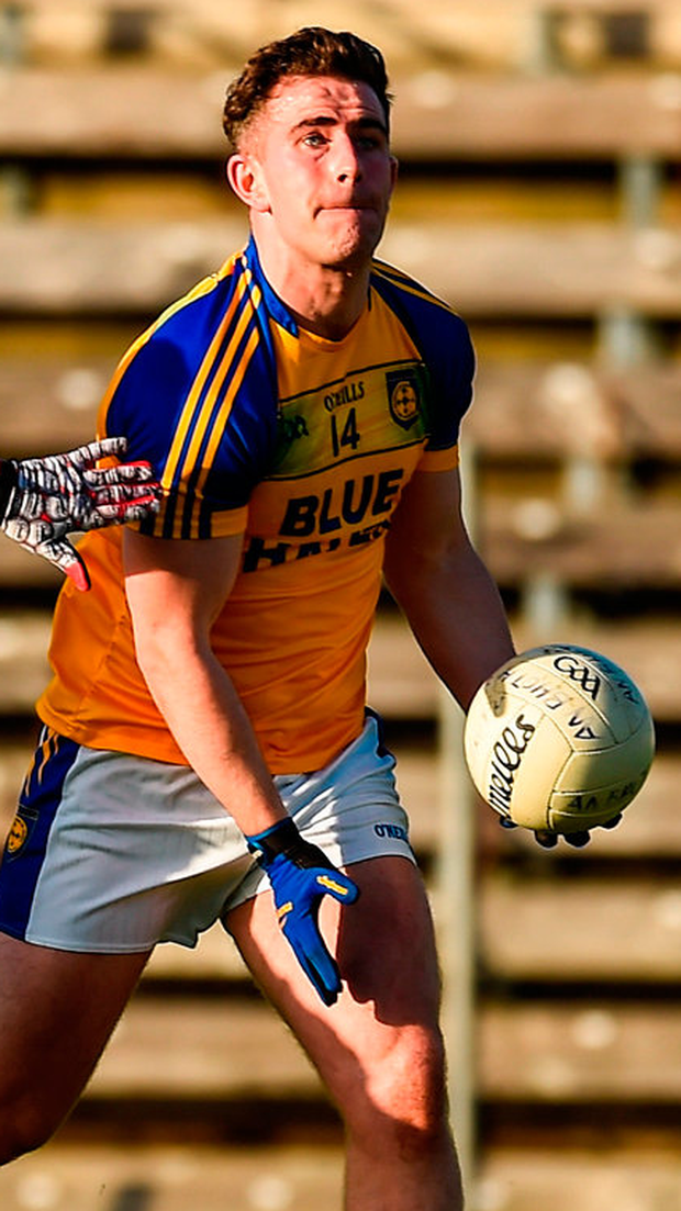 Paddy McBrearty: Eight-point tally. Photo by Philip Fitzpatrick/Sportsfile