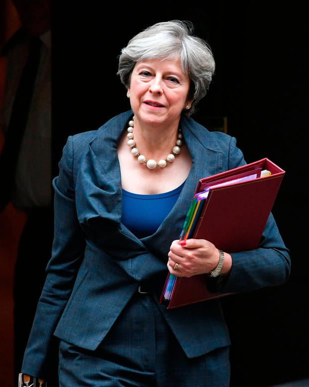 British Prime Minister Theresa May. Photo credit: Stefan Rousseau/PA Wire