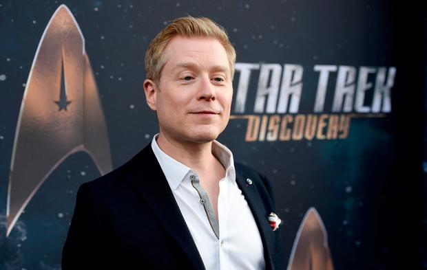FILE - In this Sept. 19, 2017 file photo, Anthony Rapp, cast member in