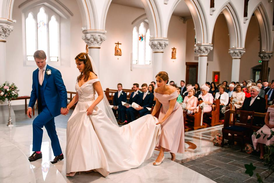 Real Wedding: Anne-Marie And Cillian Tie The Knot In
