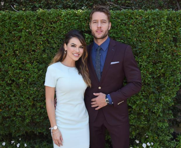 BEVERLY HILLS, CA - OCTOBER 08: Chrishell Stause and Justin Hartley attend The Rape Foundation's Annual Brunch on October 8, 2017 in Beverly Hills, California (Photo by Vivien Killilea/Getty Images for The Rape Foundation)