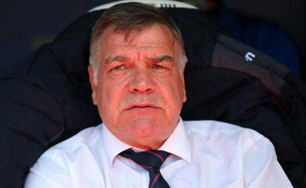 Allardyce left Palace in May but admitted he would have to think about the Everton vacancy. Getty Images