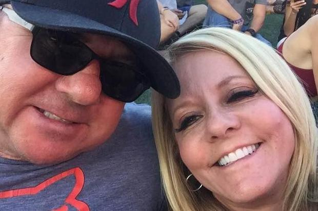 Dennis and Lorraine Carver were killed in a car crash weeks after surviving the Las Vegas shooting (Image: Facebook)