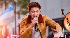 Niall Horan performs on NBC's Today show in New York
