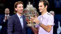 Forget questioned Federer's decision to prioritise the Basel event over Paris CREDIT: GETTY IMAGES