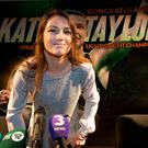 WBA World Lightweight Champion Katie Taylor at a press conference in the IFC with her manager Brian Peters and promoter Eddie Hearn. Photo: Tony Gavin 31/10/2017