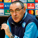 Napoli manager Maurizio Sarri. Photo: Getty Images