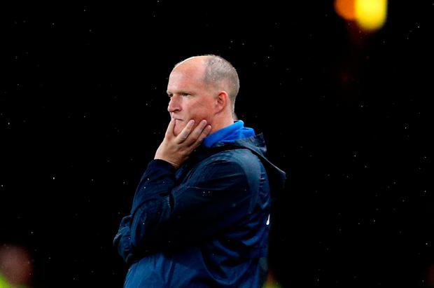 File photo dated 12-09-2017 of Sunderland manager Simon Grayson. PRESS ASSOCIATION Photo. Issue date: Tuesday October 31, 2017. Sunderland have announced they have sacked Simon Grayson as manager following this evening's 3-3 home draw with Bolton. See PA story SOCCER Sunderland. Photo credit should read Owen Humphreys/PA Wire.