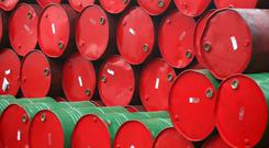 78pc said that an oil price in the range of $50-$70 per barrel would be required to support a progressive and sustainable Irish petroleum industry. Stock Image