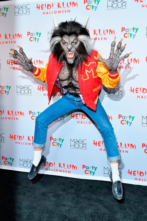 Heidi Klum attends Heidi Klum's 18th annual Halloween Party presented by Party City at the Magic Hour Rooftop Bar & Lounge on October 31, 2017 in New York City. (Photo by Slaven Vlasic/Getty Images for Heidi Klum)