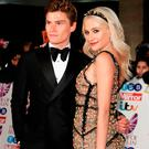 Oliver Cheshire and Pixie Lott attend the Pride Of Britain Awards at Grosvenor House, on October 30, 2017 in London, England. (Photo by John Phillips/Getty Images)