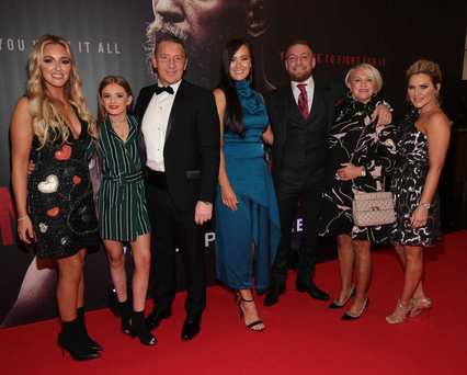 Conor McGregor at Notorious world premiere at Savoy, Dublin. PIC: Brian McEvoy