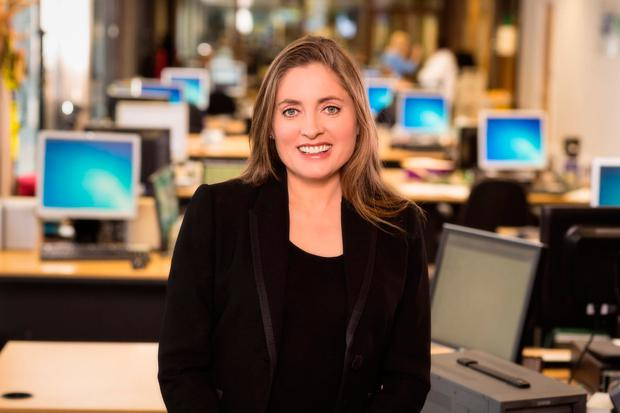 RTÉ's education correspondent Emma O'Kelly, who is a staff representative to the National Union of Journalists (NUJ)