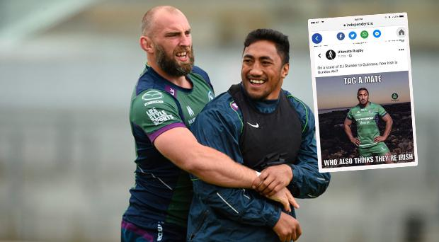 Connacht's John Muldoon slams rugby app partly owned by Brian O'Driscoll for Bundee Aki tweet
