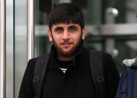 02/11/2017. Yasir Ali (29) of Lighthouse Apartments, East Wall, Dublin pictured leaving the Dublin Circuit Criminal Court today. Pic Collins Courts.