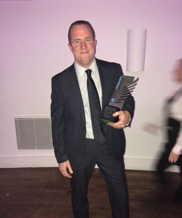 NNI News Reporter of the Year Conor Feehan