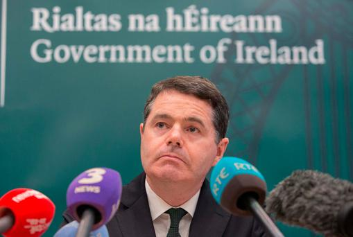 Finance Minister Paschal Donohoe Photo: Gareth Chaney Collins