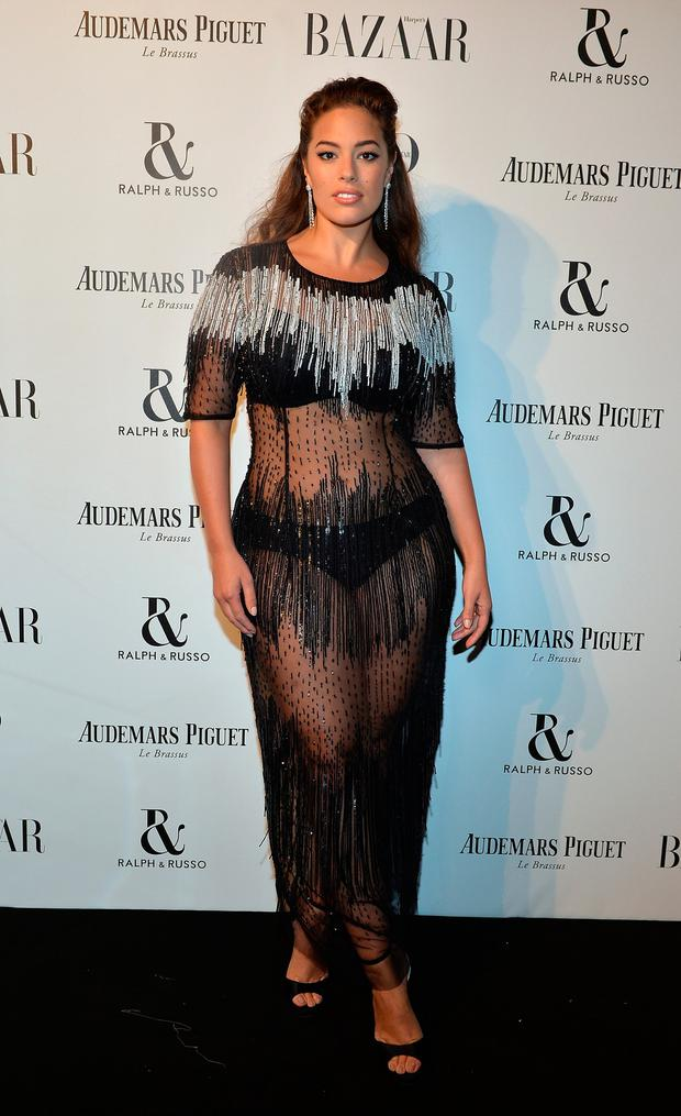 Ashley Graham attends Harper's Bazaar Women of the Year Awards 2017 Sponsored by Audemars Piguet on November 2, 2017 in London, England. (Photo by David M. Benett/Dave Benett/Getty Images for Audemars Piguet)