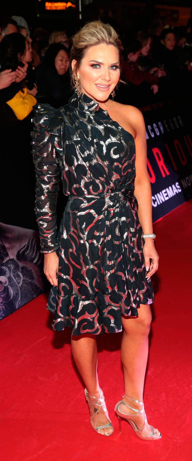Erin McGregor at the world premiere of Conor McGregor: Notorious at the Savoy Cinema, Dublin. Picture: Brian McEvoy