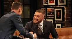 Conor McGregor will appear on tonight's Late Late Show