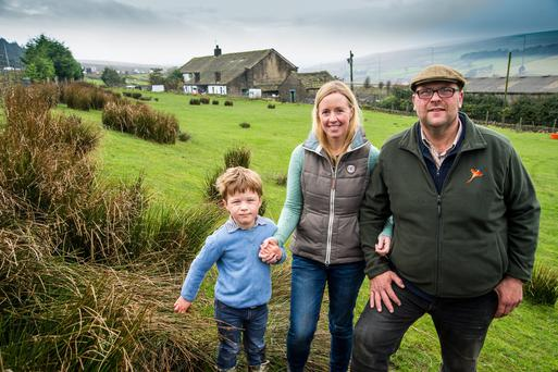 Paul Thorp who has worked at the farm since 1992 with his wife Jill and son John. Picture: Yorkshire Water.