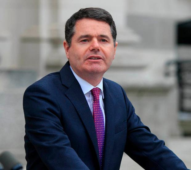 Minister Paschal Donohoe. Photo: Gareth Chaney / Collins