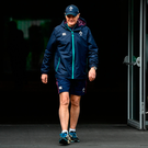 Joe Schmidt will get the chance to develop his squad this month with the big picture in mind – he can combine the talents of Robbie Henshaw and Bundee Aki and give Jacob Stockdale more international experience. Photo by Ramsey Cardy/Sportsfile