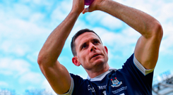 From a shot-stopping perspective it was Stephen Cluxton's finest seaons for many years. Photo by Brendan Moran/Sportsfile