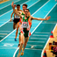 Mark Carroll winning his European indoor title in 2000. Picture credit; Brendan Moran/Sportsfile