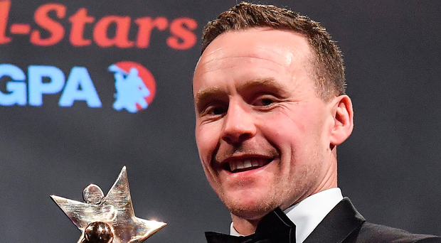 Footballer of the Year, Mayo's Andy Moran. Photo: Sportsfile