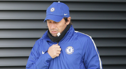 With pressure mounting at Chelsea, Antonio Conte could soon be out in the cold. Photo:Getty Images