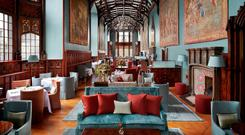 Adare Manor has been meticulously restored and updated to include a state-of-the-art La Mer spa, ballroom, and Tackroom Bar featuring more than 65 rare whiskeys