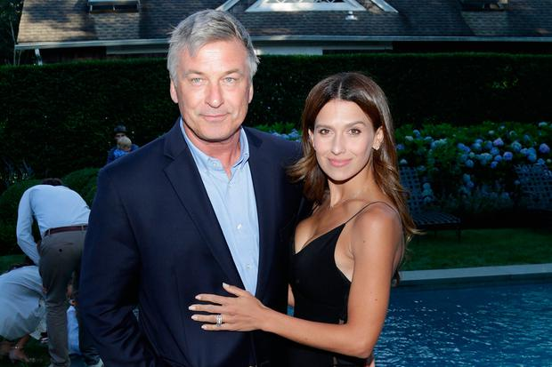 Actor Alec Baldwin and Hilaria Baldwin attend The Hamptons International Film Festival SummerDocs series screening of Trophy on July 29, 2017 in East Hampton, New York. (Photo by Lars Niki/Getty Images for Hamptons International Film Festival)