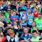 Runners at the 2017 Dublin Marathon Photo: Steve Humphreys