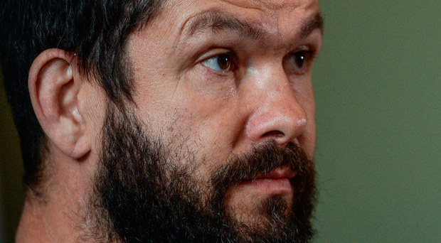 Andy Farrell: 'My only goal would be to keep progressing and getting better, and working with the right people' Photo: Eóin Noonan/Sportsfile