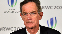 Ireland 2023 Bid Chairman Dick Spring Photo: AFP PHOTO / Glyn KIRK