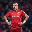 'Munster, more than Ireland, will miss Simon Zebo. He is, unfortunately, expendable' Photo: Matt Browne/Sportsfile
