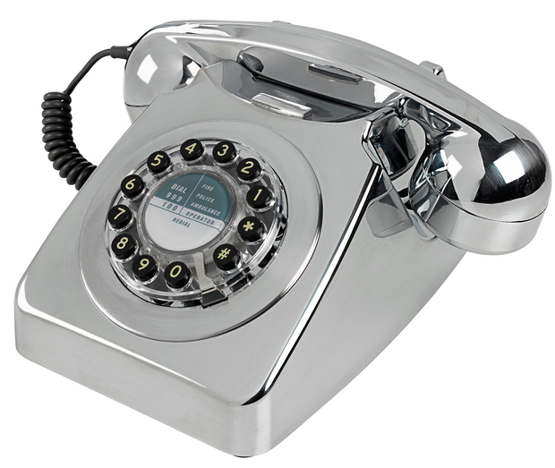 Chrome 746 Phone, €85: Take a break from the smart phone and go retro; harveynorman.ie
