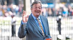 ATHEIST: Stephen Fry's impassioned television statement prompted claims he had committed blasphemy