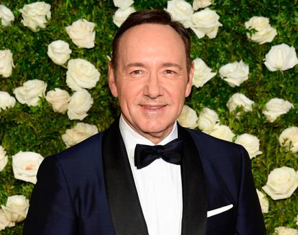 Queering the pitch: Spacey stands accused of trying to distract from the allegations against him Photo: Evan Agostini/Invision/AP