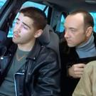 Colin Farrell and Kevin Spacey in a scene from 'Ordinary Decent Criminal'