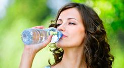 'Luxury water - yes, it is a thing - may be the next frontier in the $184bn global bottled water market but it's also a practical first-hand introduction to the power of marketing and how the industry has managed to pull off what is often described as the marketing trick of the century' (stock photo)