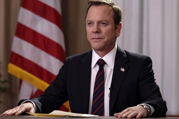 Kiefer Sutherland stars as Tom Kirkman in Designated Survivor