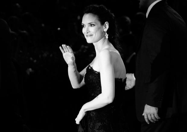 Actress Winona Ryder attends the 'Superstar' premiere during the 69th Venice Film Festival at the Palazzo del Cinema on August 30, 2012 in Venice, Italy. (Photo by Vittorio Zunino Celotto/Getty Images)