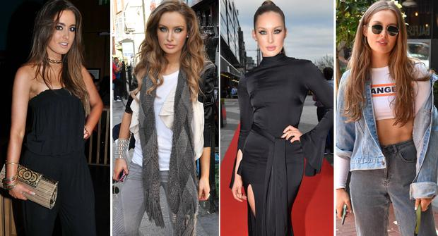 (L to R) Roz Purcell in 2010, 2012 and 2017