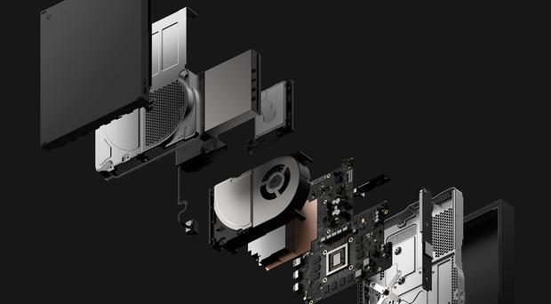 The Xbox One X is a fine example of engineering - quiet and yet powerful